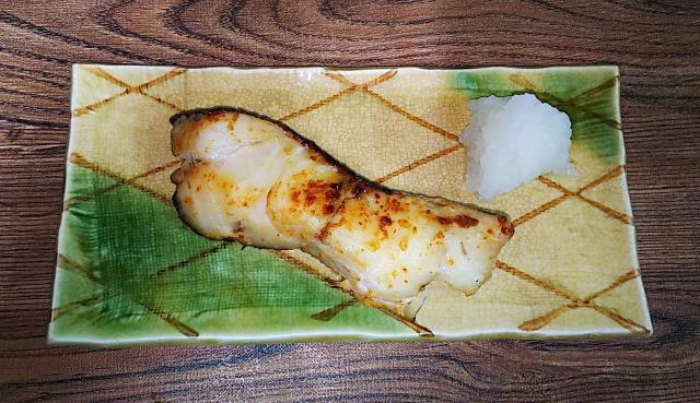 鱈のマヨネーズ焼き 完成