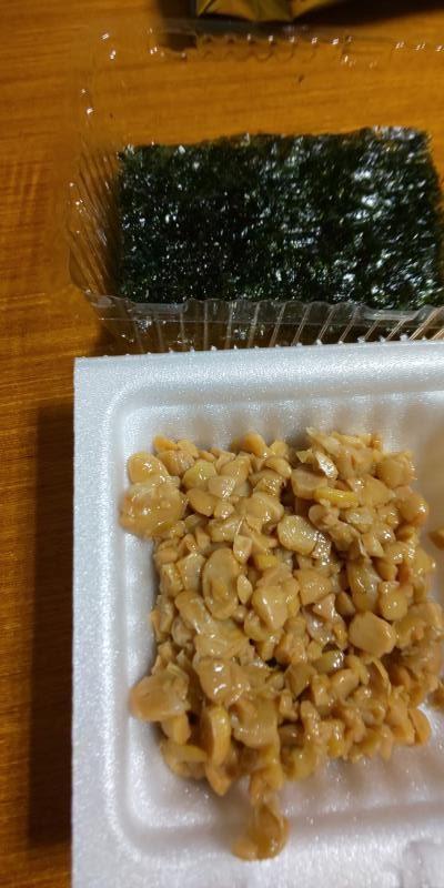 納豆と韓国海苔