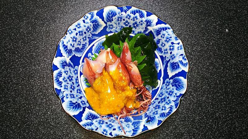 富山産ホタルイカ 低糖質酢味噌