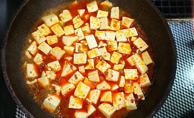 汁なし麻婆麺レシピ4