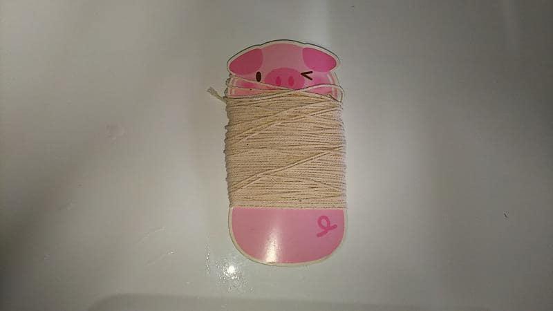 チャーシューレシピ 工程写真 縛り用糸
