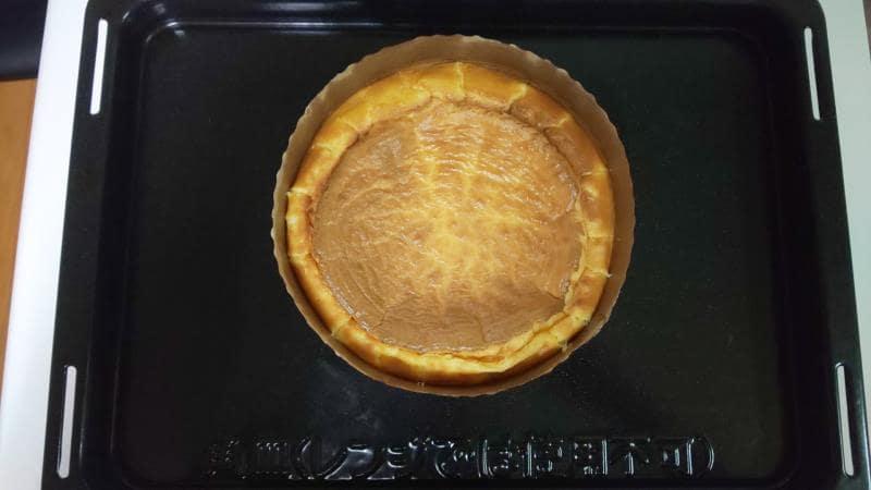 低糖質チーズケーキ工程6