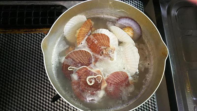 稚貝の味噌汁 作り方