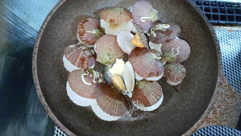 ホタテの稚貝の酒蒸しレシピ