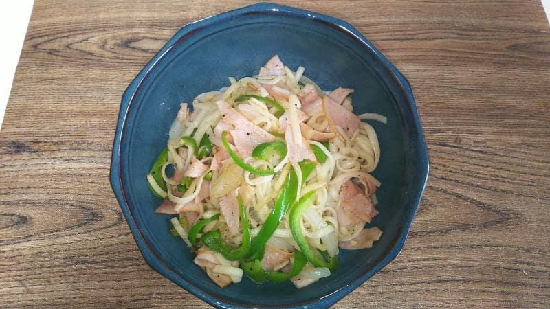イタリアン(紀文糖質0g麺 平麺)