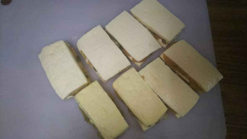 豆腐のはさみ焼きレシピ 豆腐ではさむ