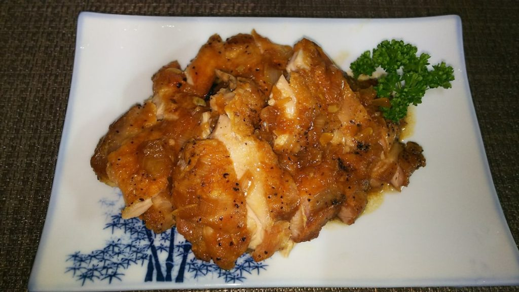 鶏の油淋鶏風焼き