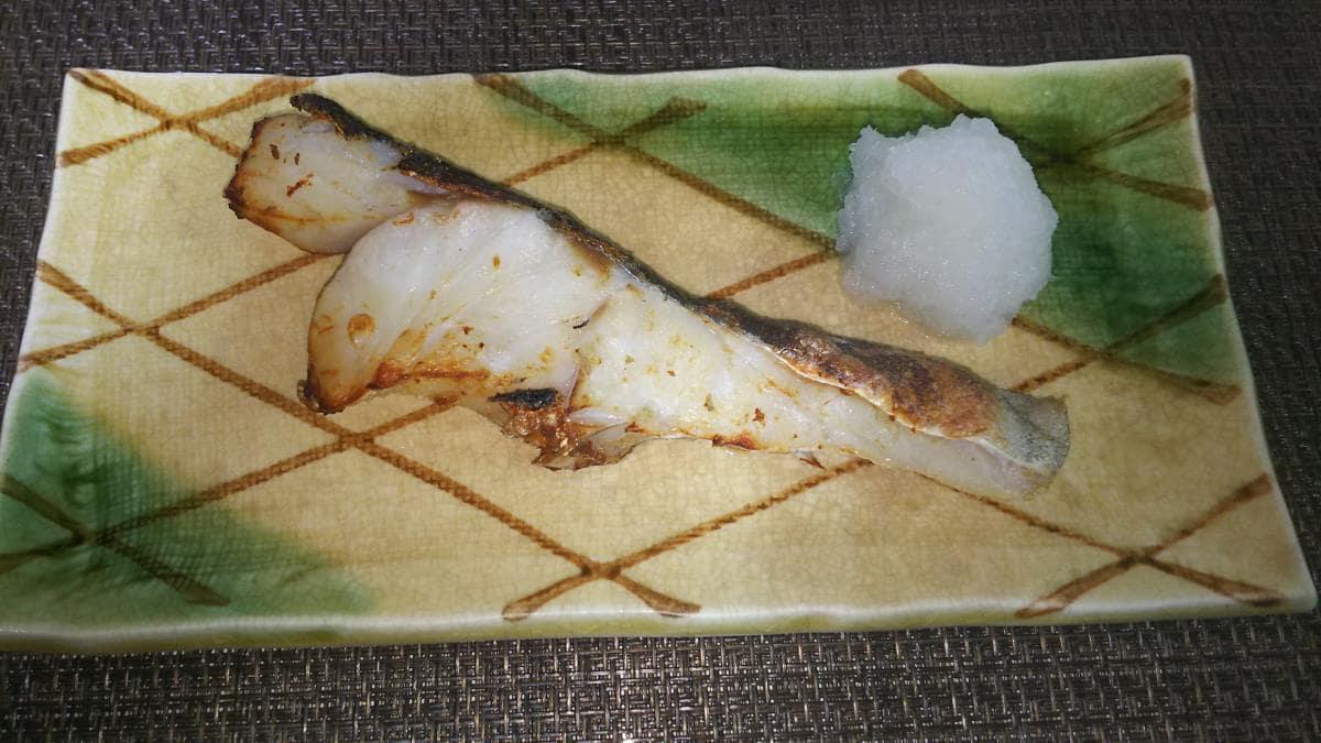 鱈のしょっつる漬け焼き