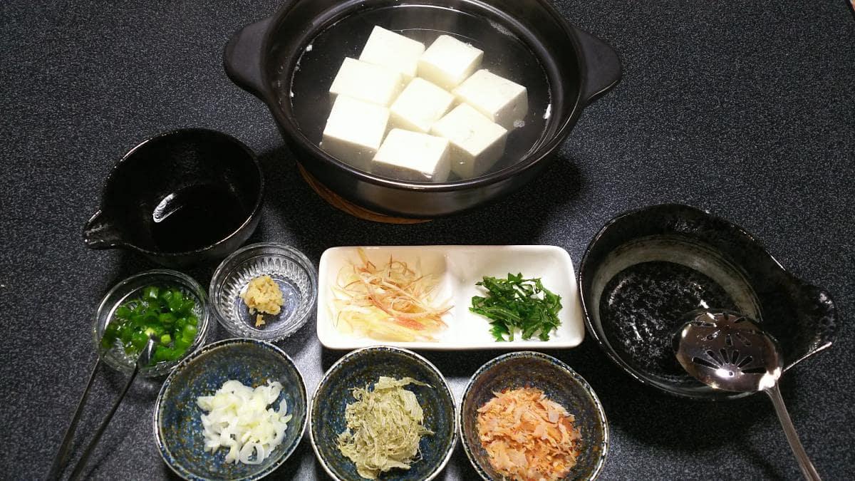 本格湯豆腐